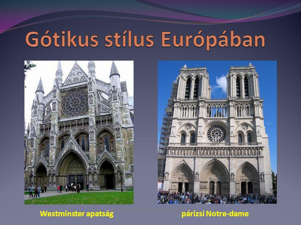Gótikus stílus Európában