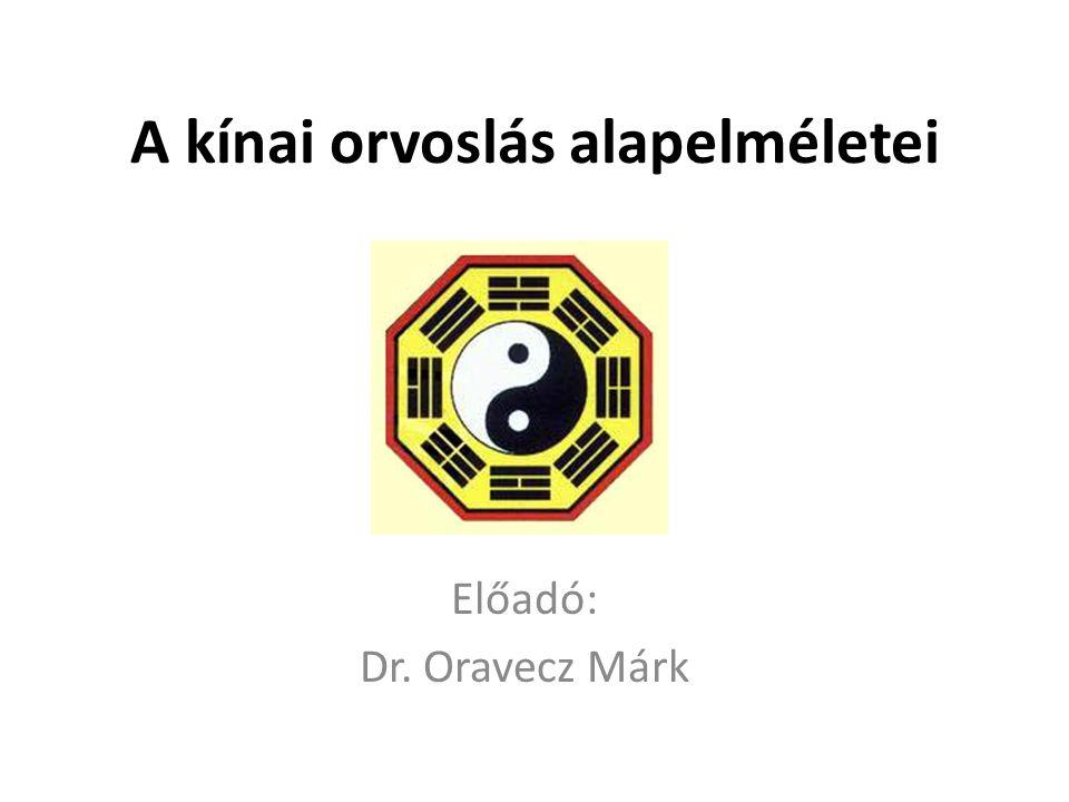 A kínai orvoslás alapelméletei