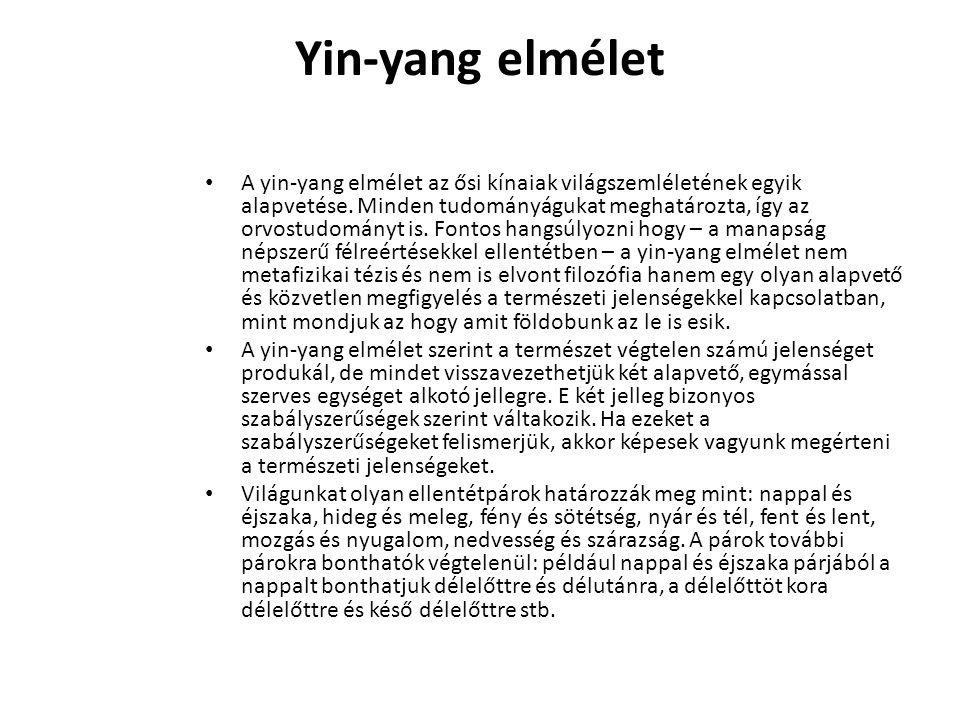 Yin-yang elmélet