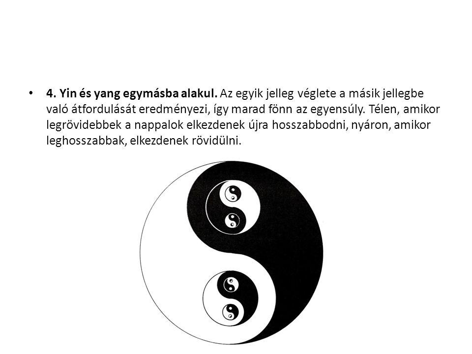 4. Yin és yang egymásba alakul