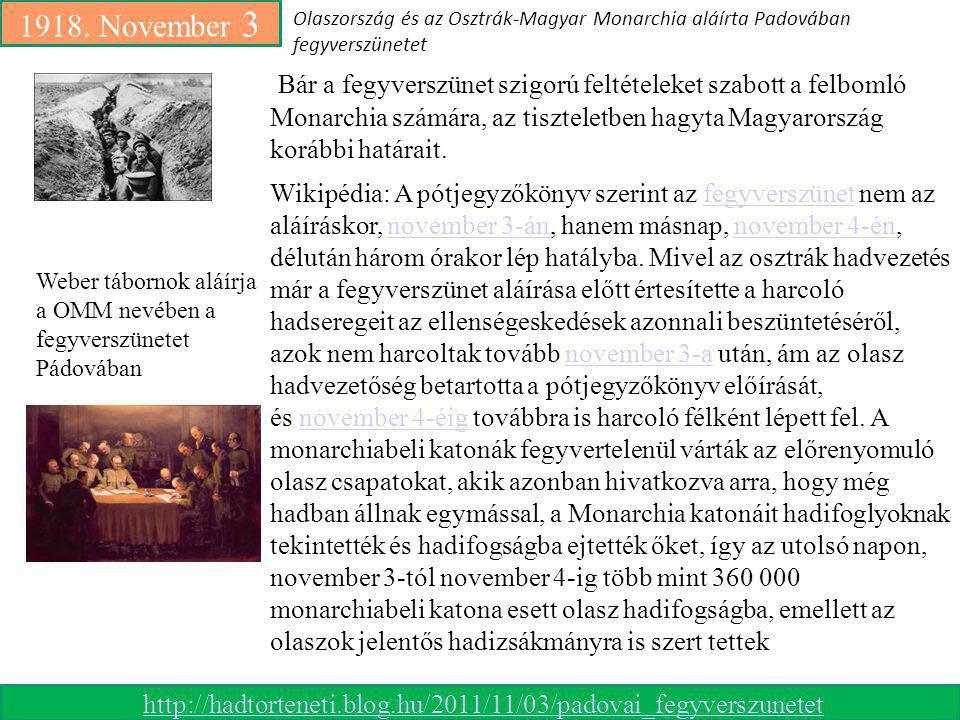 1918. November 3 Wikipédia: Pádova 1918.nov.3.