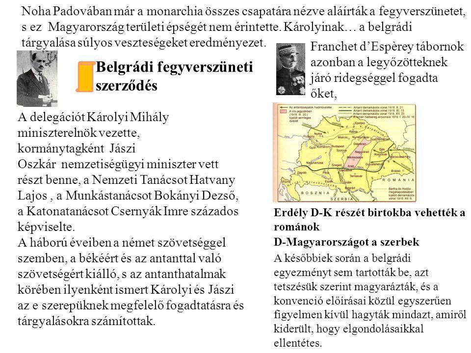 Belgrádi fegyverszüneti szerződés