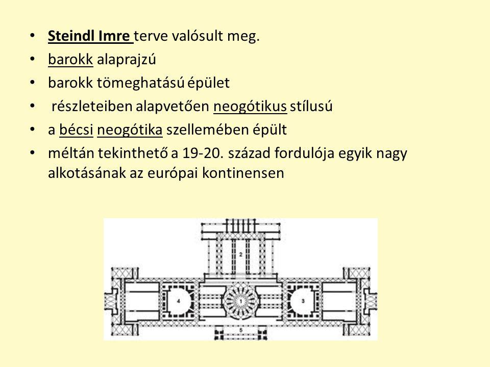 Steindl Imre terve valósult meg.