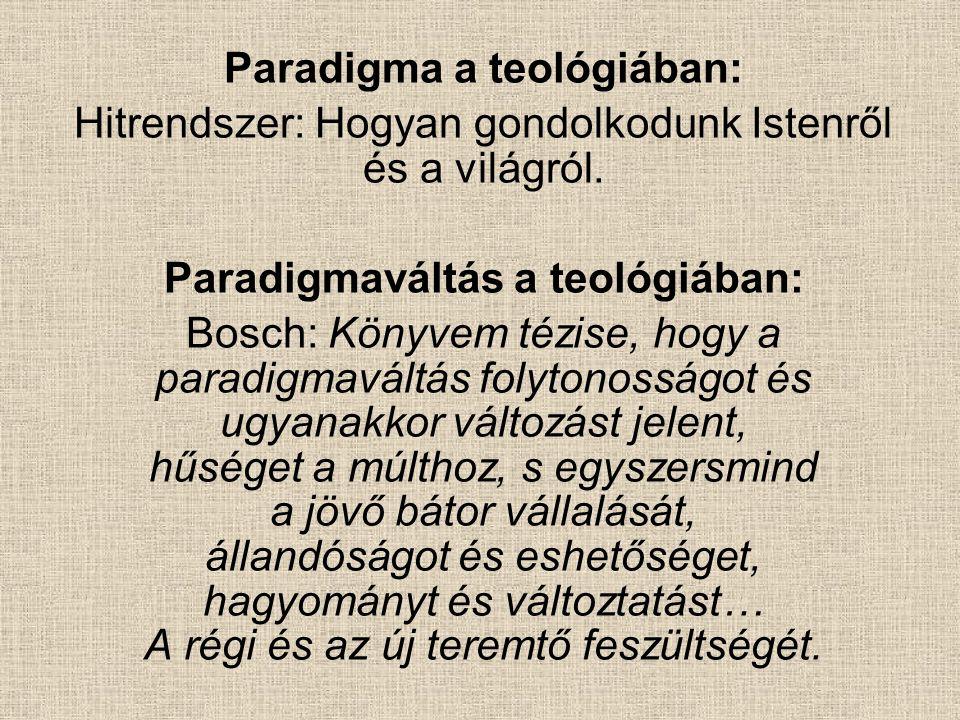 Paradigma a teológiában: