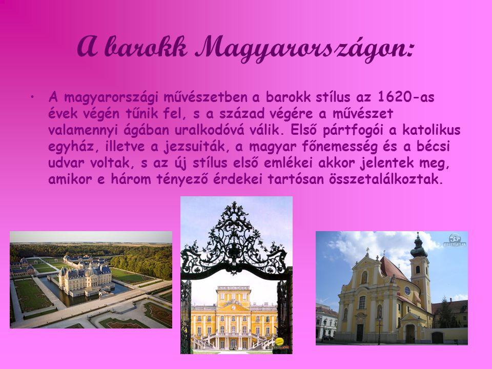 A barokk Magyarországon: