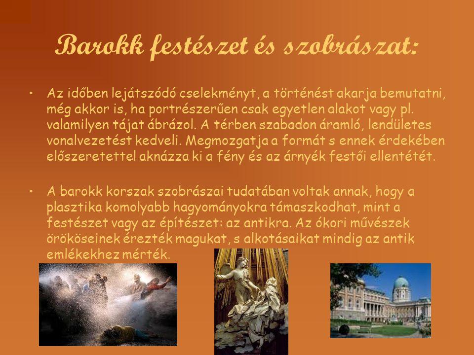 Barokk festészet és szobrászat: