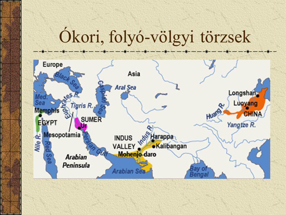 Ókori, folyó-völgyi törzsek