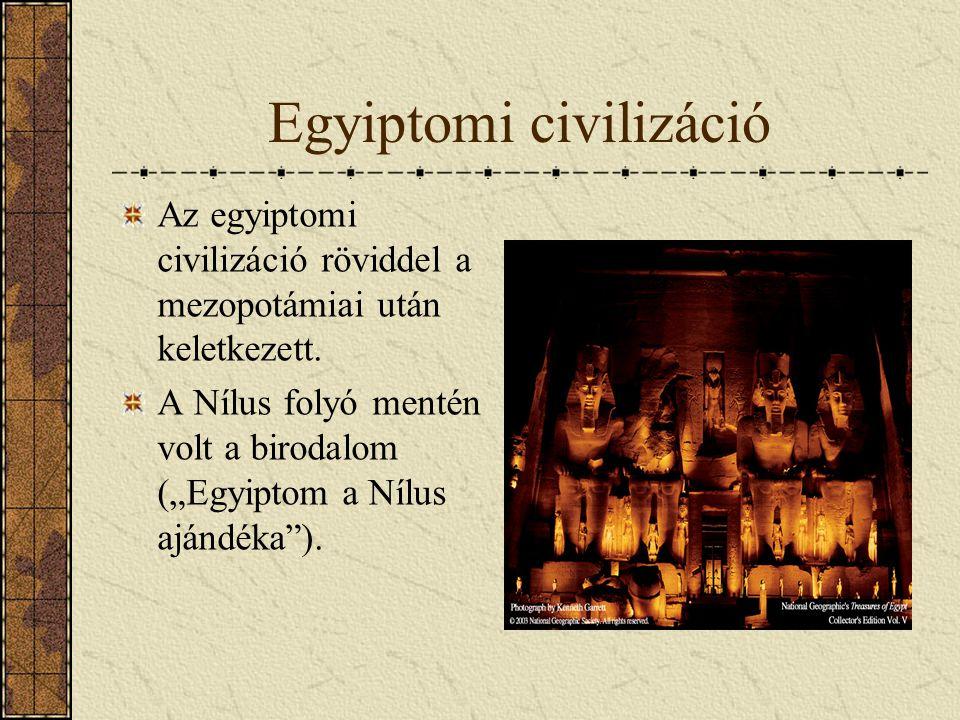 Egyiptomi civilizáció