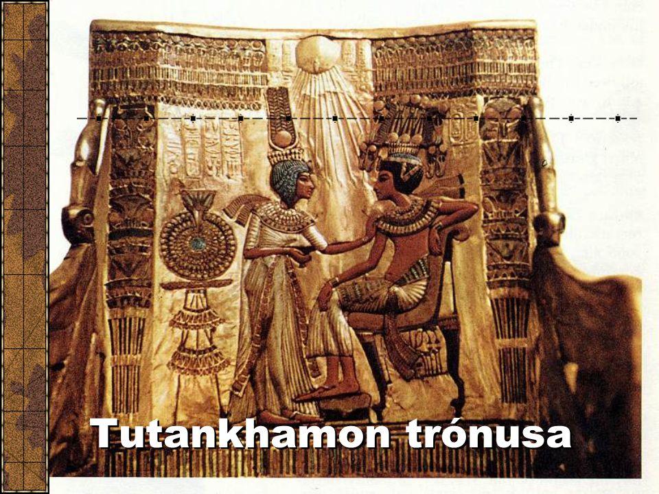 Tutankhamon trónusa