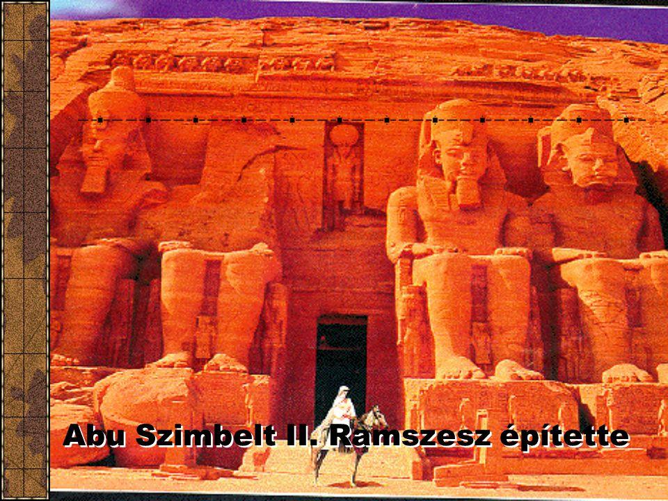Abu Szimbelt II. Ramszesz építette