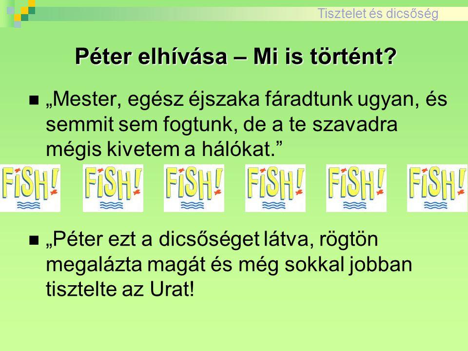 Péter elhívása – Mi is történt