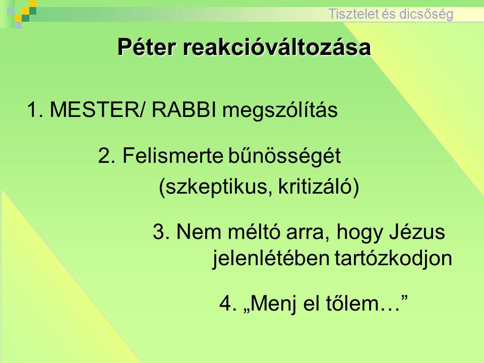 Péter reakcióváltozása