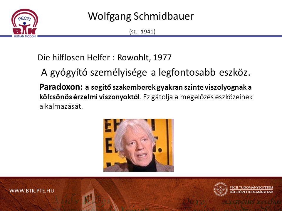Wolfgang Schmidbauer (sz.: 1941)