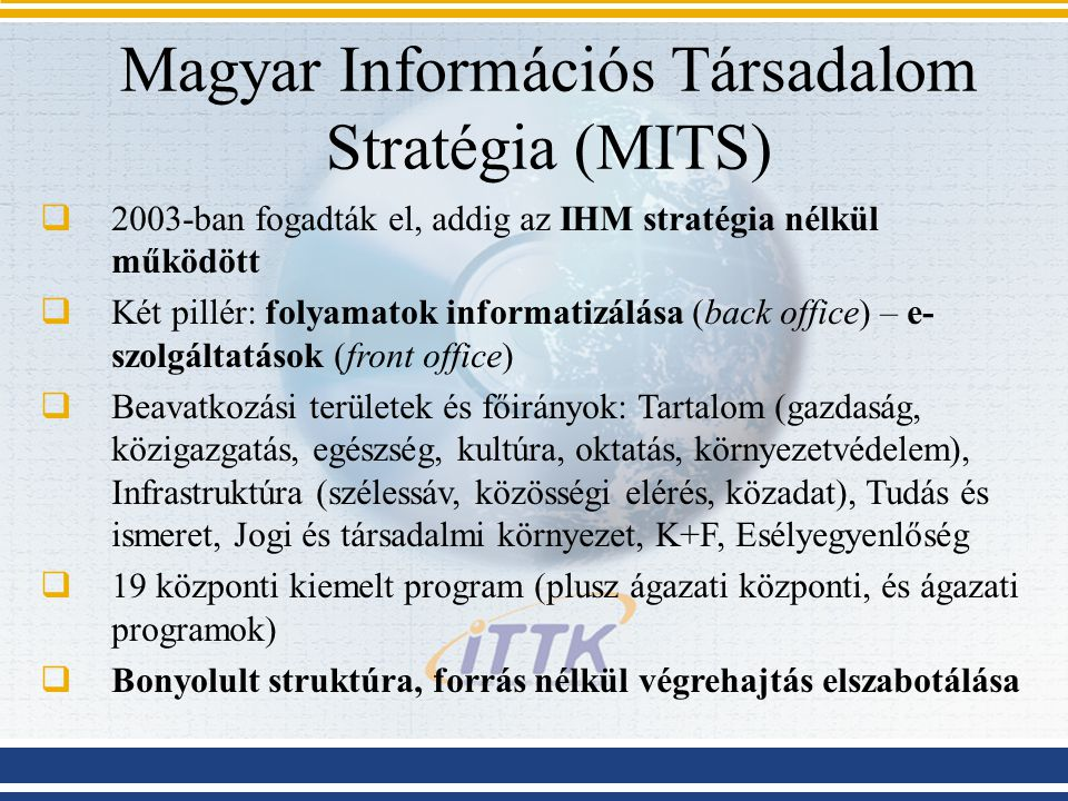 Magyar Információs Társadalom Stratégia (MITS)