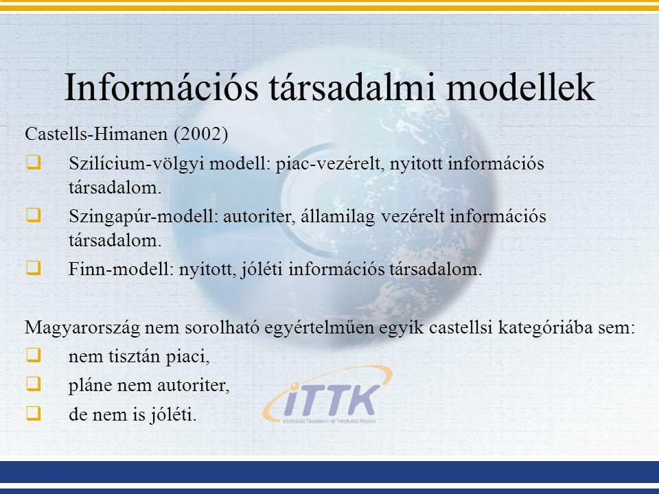 Információs társadalmi modellek