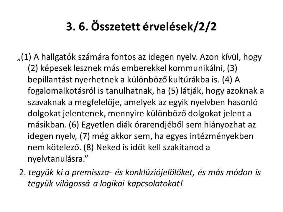 3. 6. Összetett érvelések/2/2