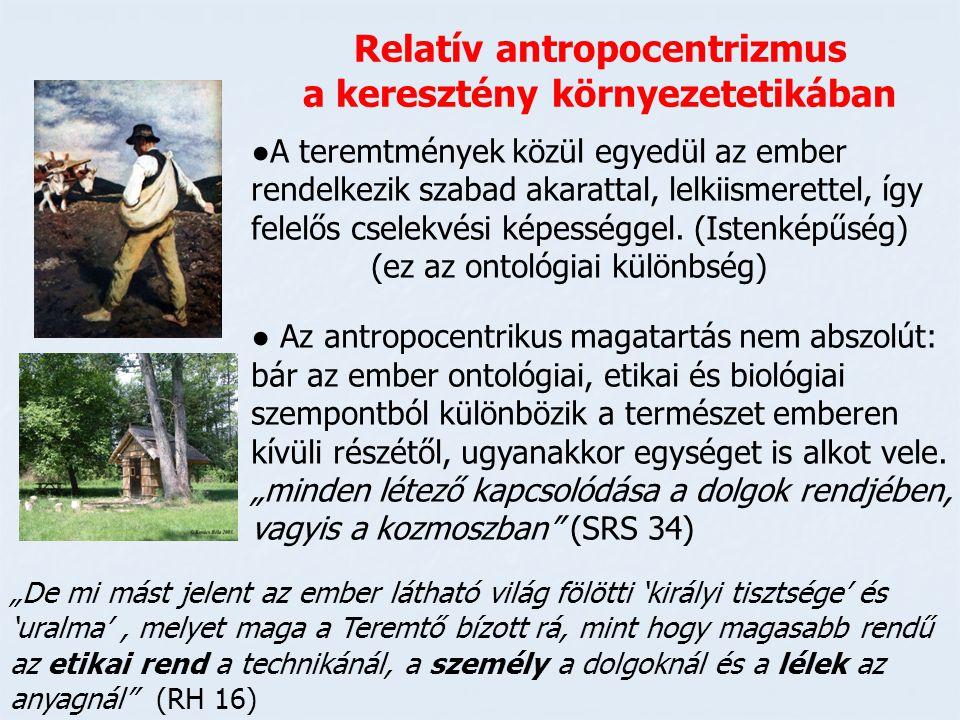 Relatív antropocentrizmus a keresztény környezetetikában