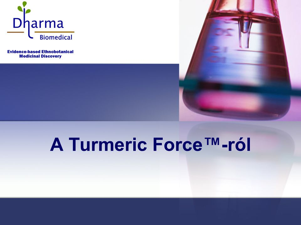 A Turmeric Force™-ról