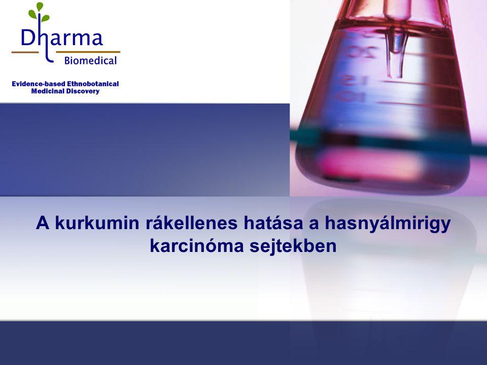 A kurkumin rákellenes hatása a hasnyálmirigy karcinóma sejtekben