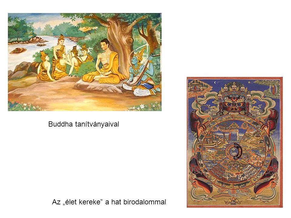 Buddha tanítványaival