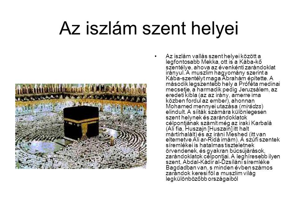 Az iszlám szent helyei