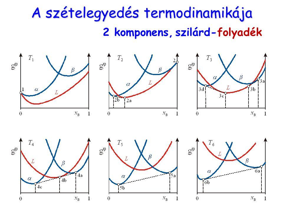 A szételegyedés termodinamikája