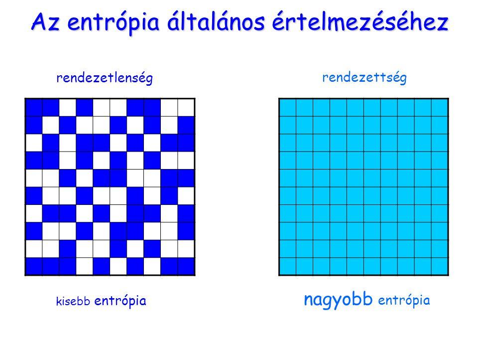 Az entrópia általános értelmezéséhez