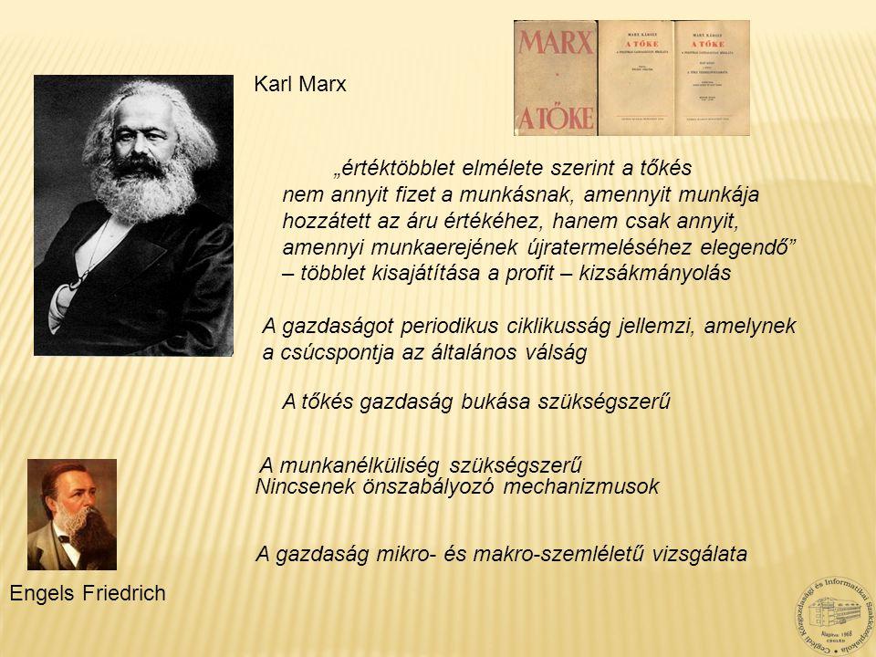 """Karl Marx """"értéktöbblet elmélete szerint a tőkés. nem annyit fizet a munkásnak, amennyit munkája. hozzátett az áru értékéhez, hanem csak annyit,"""