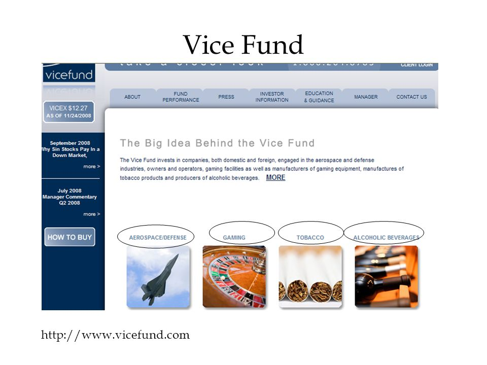 Vice Fund http://www.vicefund.com