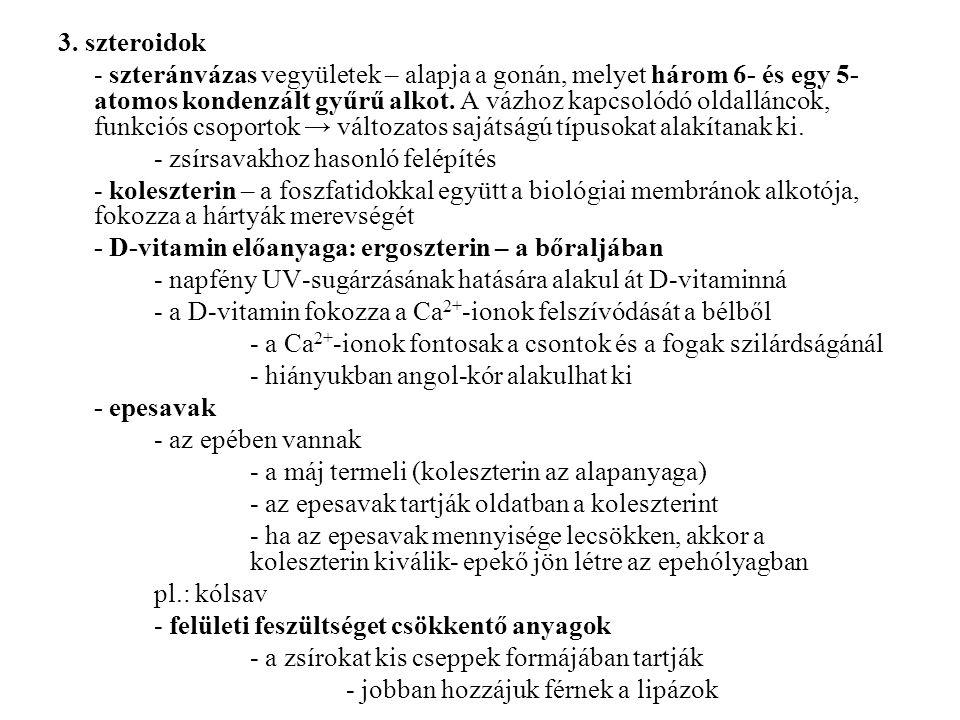 3. szteroidok