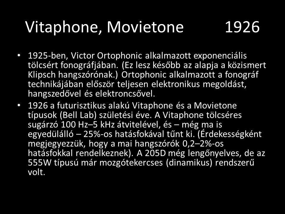 Vitaphone, Movietone 1926