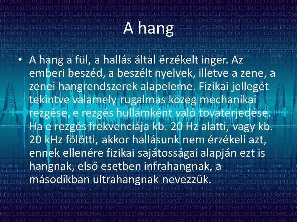 A hang