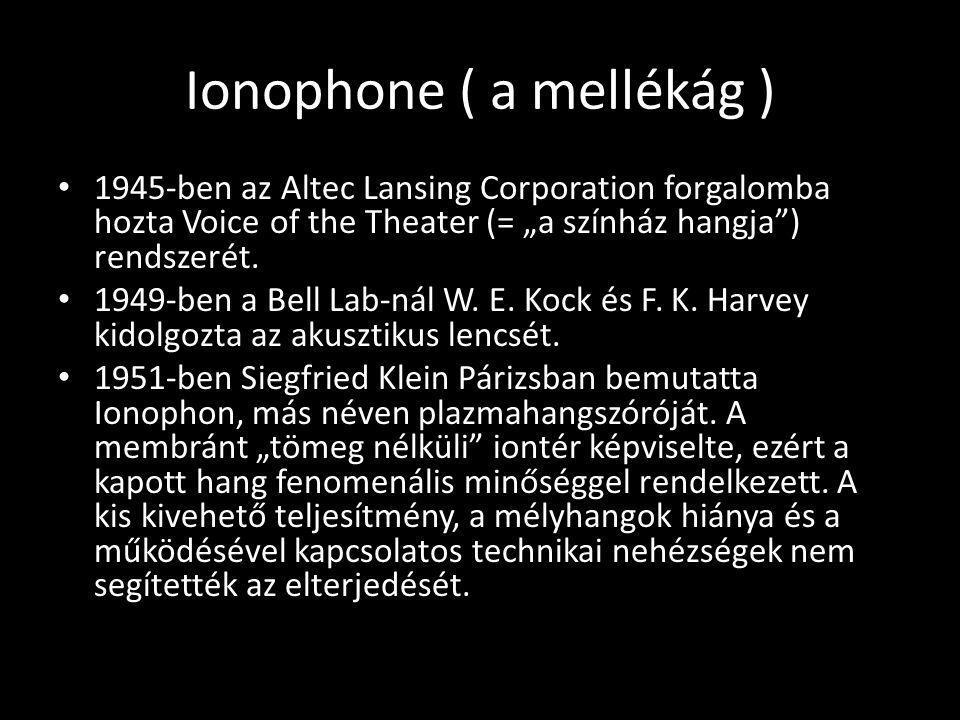 Ionophone ( a mellékág )