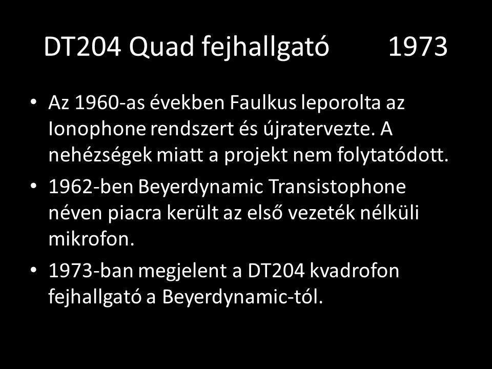 DT204 Quad fejhallgató 1973