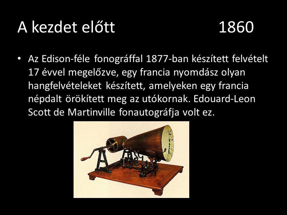 A kezdet előtt 1860