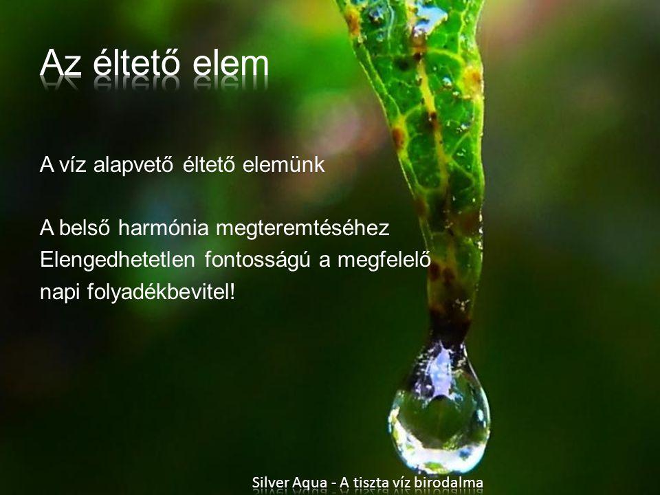 Silver Aqua - A tiszta víz birodalma