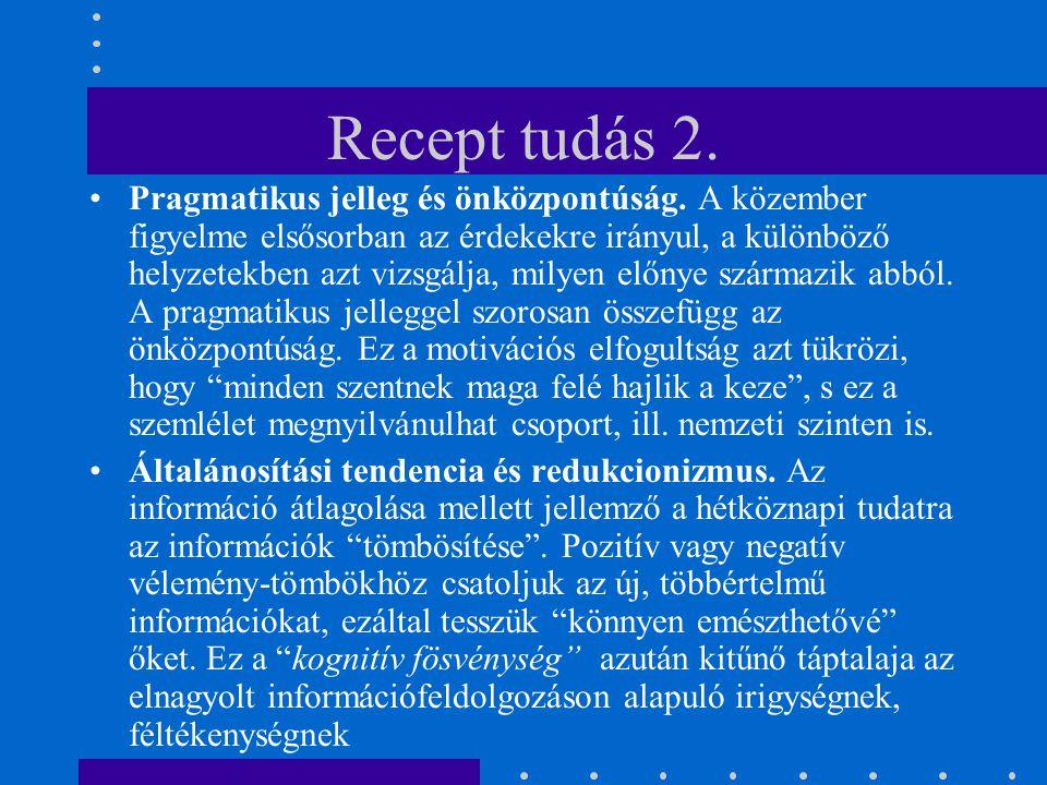 Recept tudás 2.