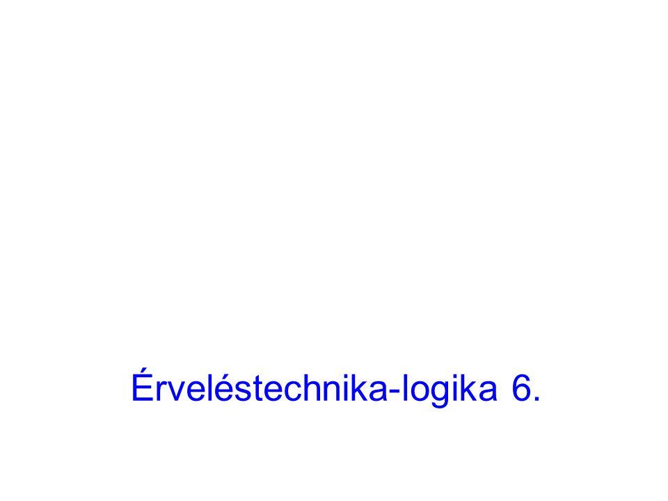 Érveléstechnika-logika 6.