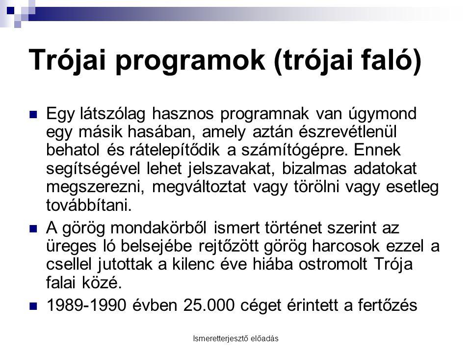 Trójai programok (trójai faló)