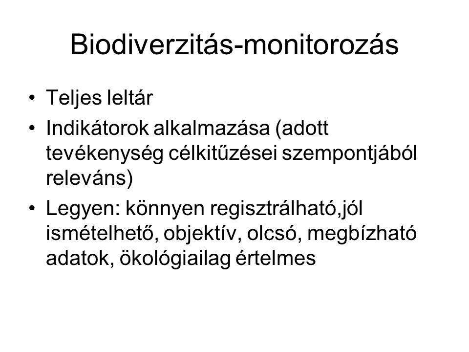Biodiverzitás-monitorozás