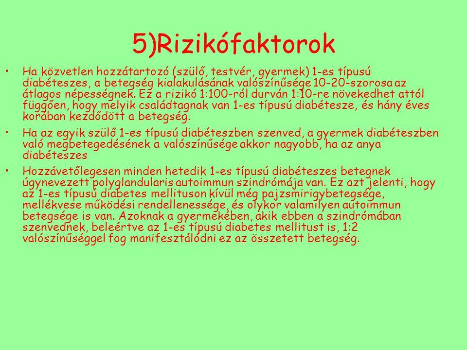 5)Rizikófaktorok
