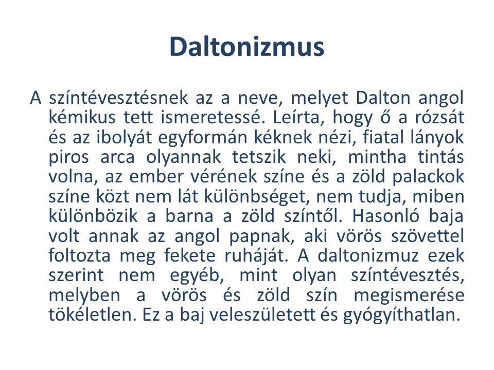 Daltonizmus