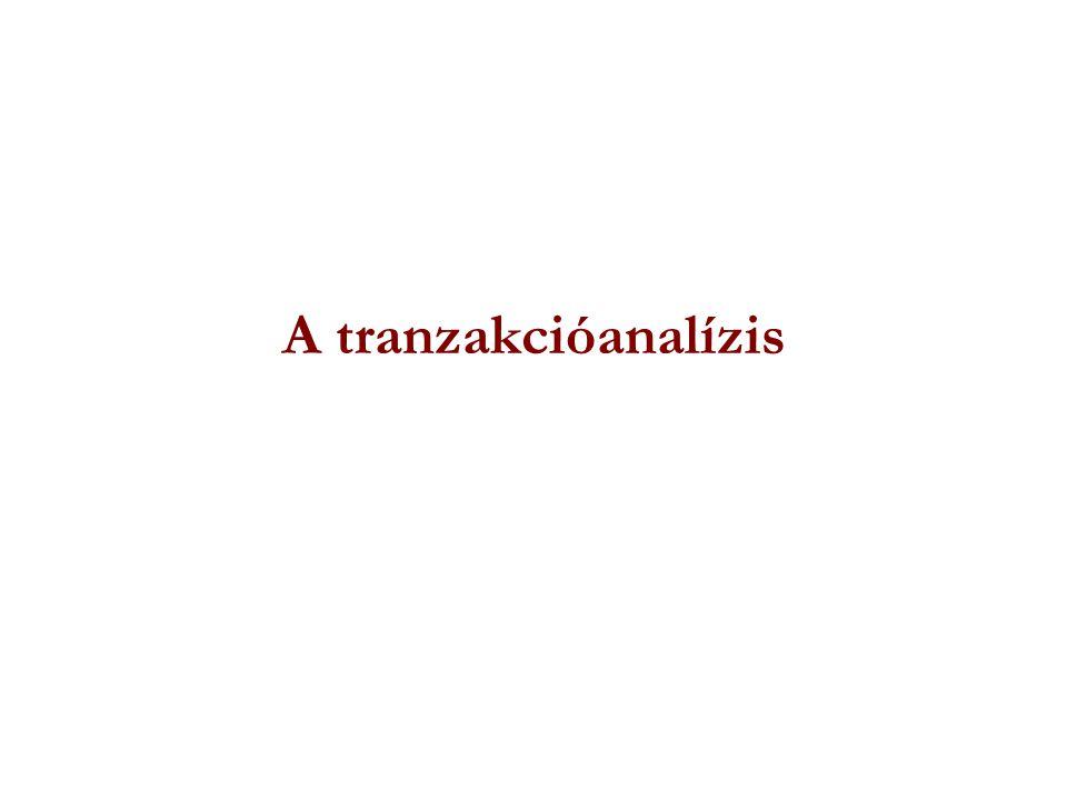 A tranzakcióanalízis
