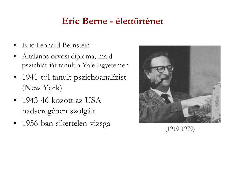 Eric Berne - élettörténet