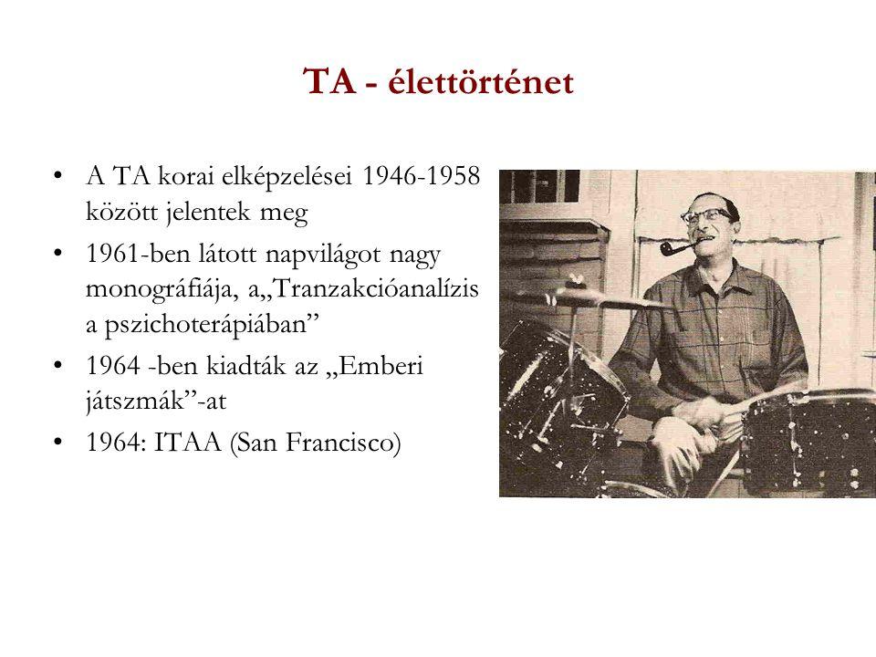 TA - élettörténet A TA korai elképzelései 1946-1958 között jelentek meg.
