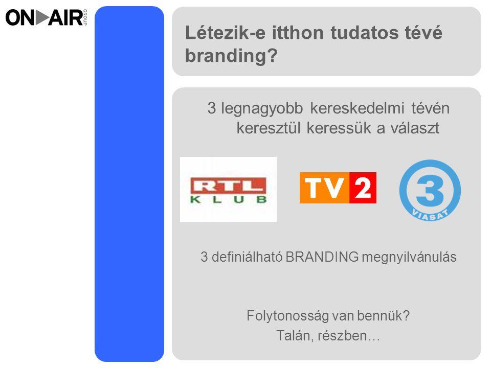 Létezik-e itthon tudatos tévé branding