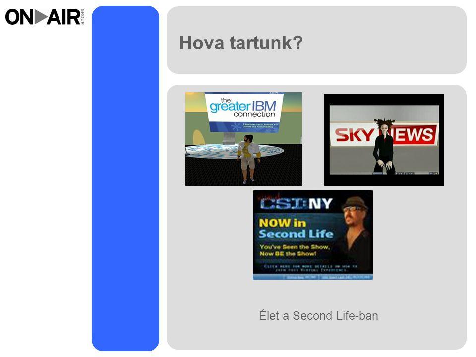 Hova tartunk Élet a Second Life-ban
