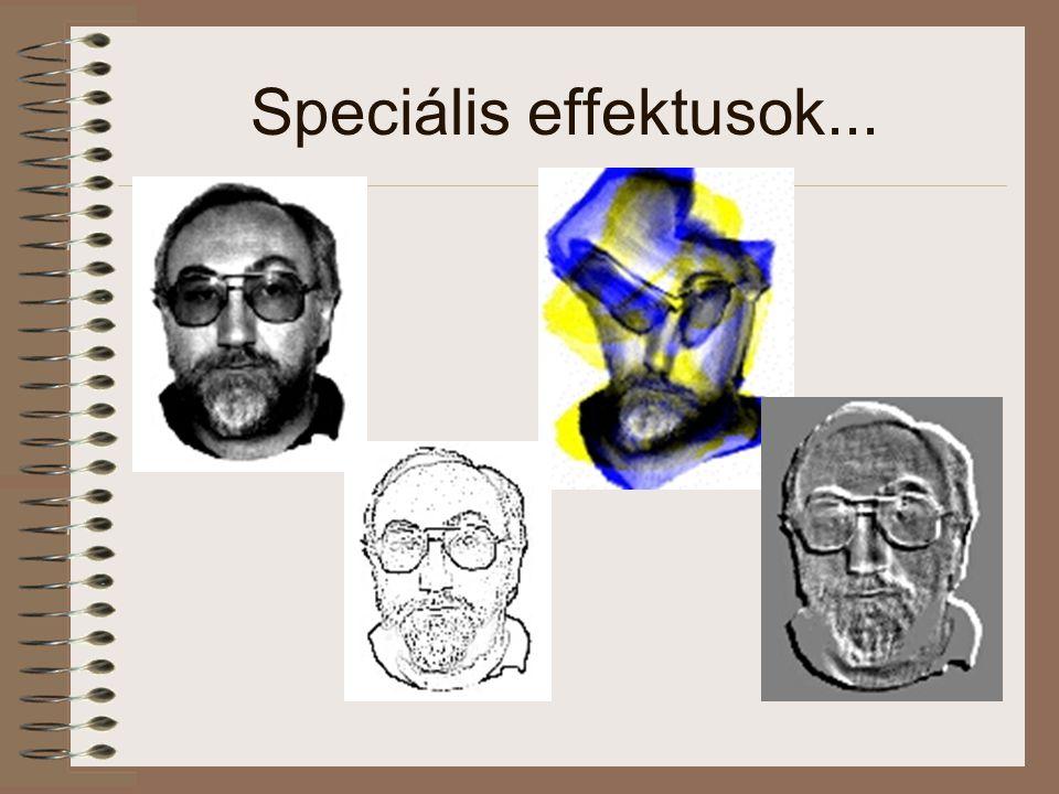 Speciális effektusok...