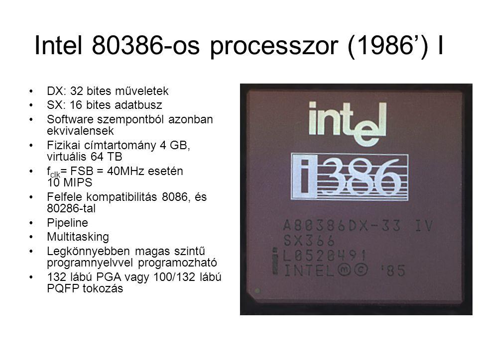 Intel 80386-os processzor (1986') I
