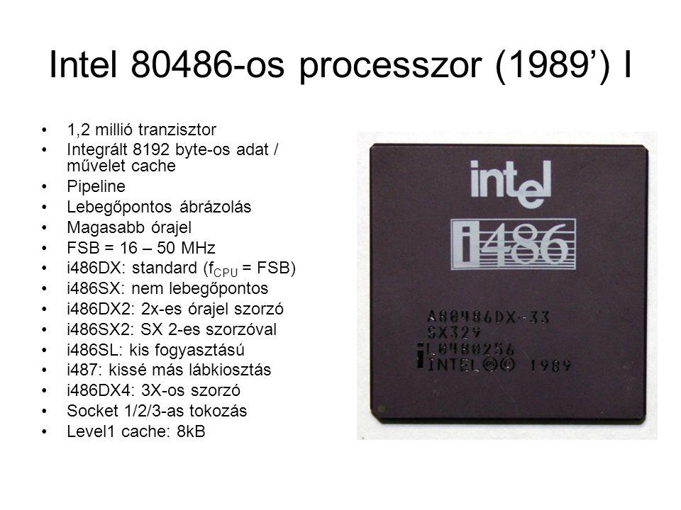 Intel 80486-os processzor (1989') I